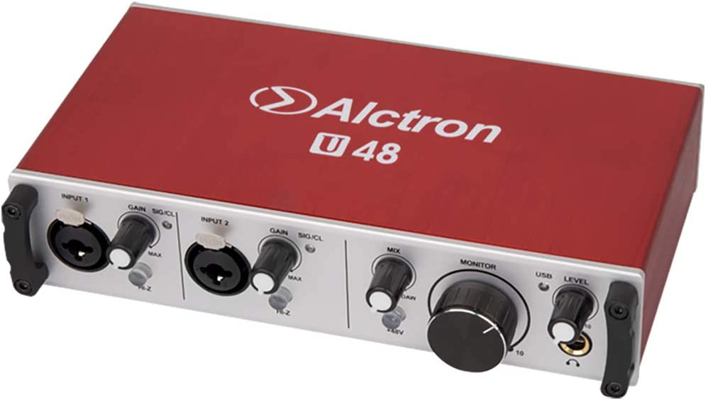 Amazon.com: Alctron U48 professional audio interface used to convert the  signal from A to D or D to A: Musical Instruments