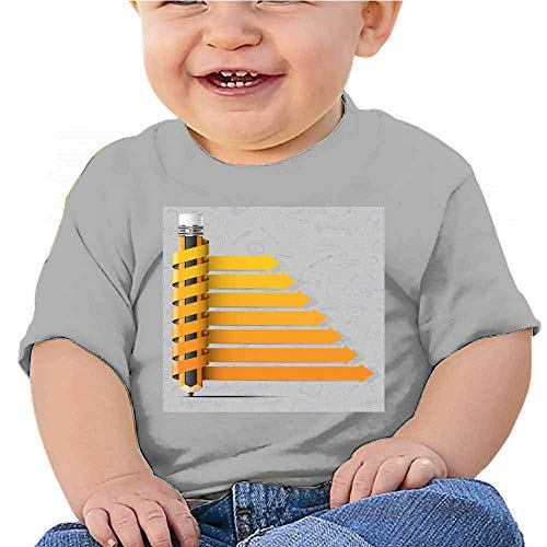 Baby Short Sleeve 3D Light Bulb Timeline Infographic with Icons Set. Vector. Illustration.Timeline Durable Jersey T-Shirt Gray