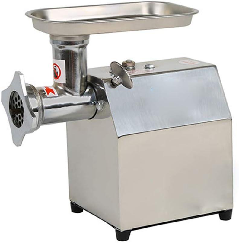 FAMLYJK Máquina de Picar Carne Grande de la picadora de Carne, máquina para Picar Carne eléctrica portátil Industrial del Acero Inoxidable: Amazon.es