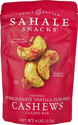 (Sahale Snacks Cashews Pomegranate Vanilla -- 4 oz - 2 pc)