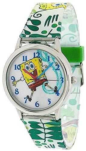- Spongebob Squarepants Kids - Childrens Analogue Pu Strap Watch SB042
