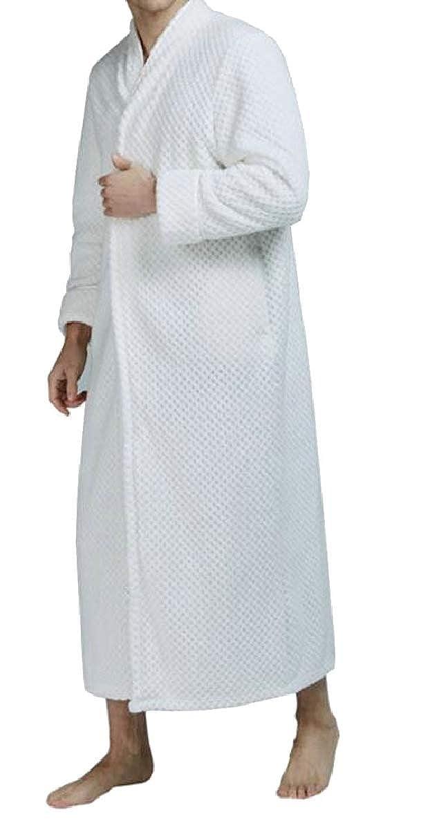 4 Xswsy XGCA Womens Plus Size Flannel Zipper Fall Winter Sleepwear Bathrobe Homewear