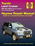 Toyota Land Cruiser Petrol & Diesel Automotive Repair Manual: 2007-2015: Part 92753