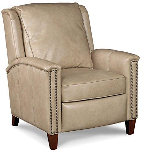 Hooker Furniture Kelly Recliner, Beige (Beige Leather Recliner)