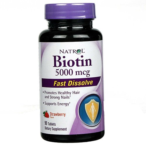 Natrol Biotin 5000mg Fst Dslv