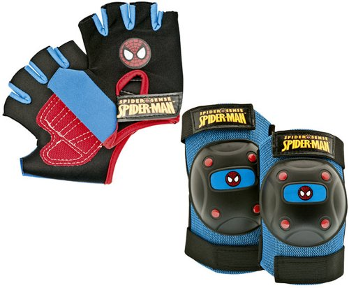 Bell Spider-Man Web Slinger Protective Gear, Multi, Age 4+ by Bell