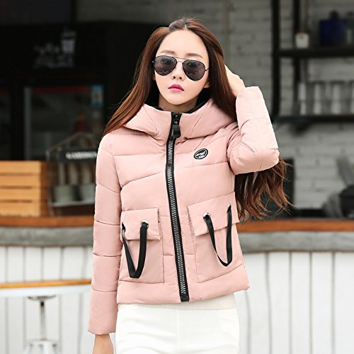 Jacket Cotton Cotton Pink Paragraph Female Versatile Winter Algeria Stream Winter Small A Winter And Xuanku Short Coat q7aBxt66n