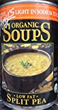 Amy's Organic Soups Light in Sodium Split Pea 14.5oz Can (Pack of 5)