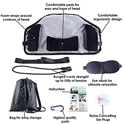 Hammock for Neck Pain Relief-Portable Head Hammock Cervical Traction Device Suitable for Office Workers, Drivers, Students, Teachers, Body Workers by JIA LE