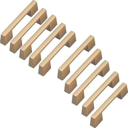 PSHHLBR Pomo de Puerta Tatami cajón Puerta de la luz Manejar Simple cajón Retro manija de aleación de Zinc Armario Mango 10 Piezas (Color : Gold, Size : 17.4cm*10): Amazon.es: Hogar