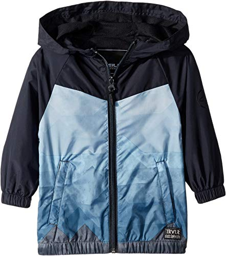 O'Neill Kids Baby Boy's Traveler Windbreaker Jacket (Toddler/Little Kids) Dark Navy 2T (Toddler) ()