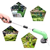 LOCHI 1 Set Garden Power Tool Grass Strimmer Trimmer Lawn Cutter w/Telescopic Rod Protective Cover Pruning Tools