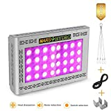 MARS HYDRO Led Grow Light 800W Full Spectrum for Indoor Plants Veg and Flower Plant Growing Lights for Hydroponics Grow Lights High Yield (Pro II Epistar 800W)