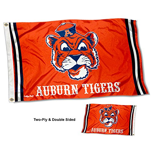 College Flags and Banners Co. Auburn Tigers Vault Throwback Vintage Double Sided Flag