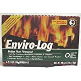Enviro-Log Earth-Friendly Firelogs - Set of 6