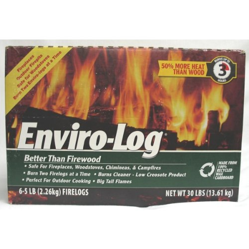 Enviro-Log Firelogs - 6 CT
