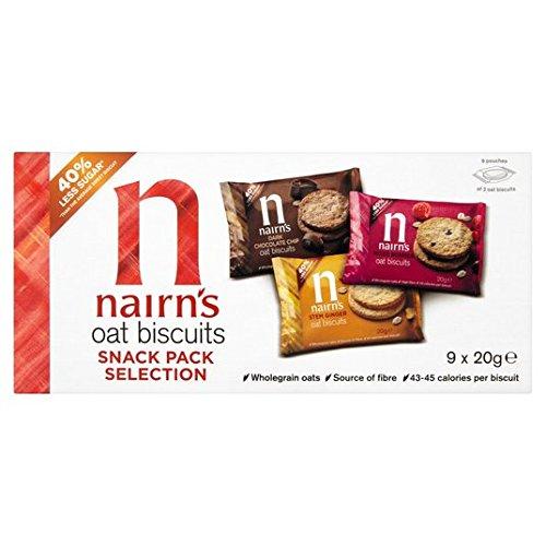 9 Galletas de avena Snack-180g Paquete Selección de Nairn: Amazon.es: Alimentación y bebidas