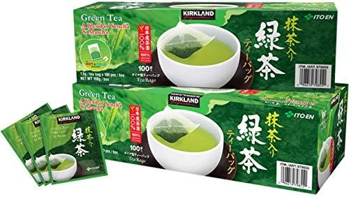 Kirkland Ito En Matcha Blend Japanese Green Tea-200 ct 1.5g tea bags - Ct Bag 200