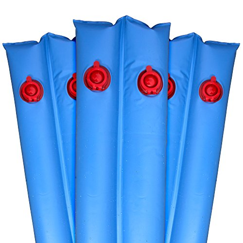 Robelle 3811-20-12 Premium 20g. Double-Chamber 10-Foot Blue Winter Water Tube For Swimming Pool Covers, 12-Pack