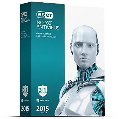 ESET NOD32 Antivirus - 2015 Edition - 3 Users V.8