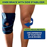 Knee Brace for Knee Pain with Side Stabilizers for
