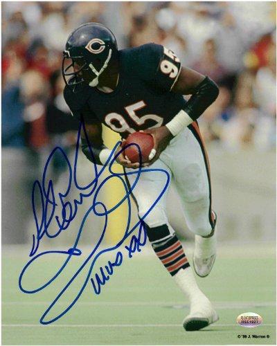 Richard Dent Chicago Bears Autographed 8x10 Football Photo 3 With MVP XX Inscription ()
