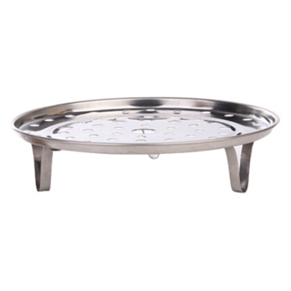 Silver Tone Stainless Steel Steaming Steamer Rack Tray Stand for Cooker (8.5 Inch Diameter) by Sanwood (Image #5)