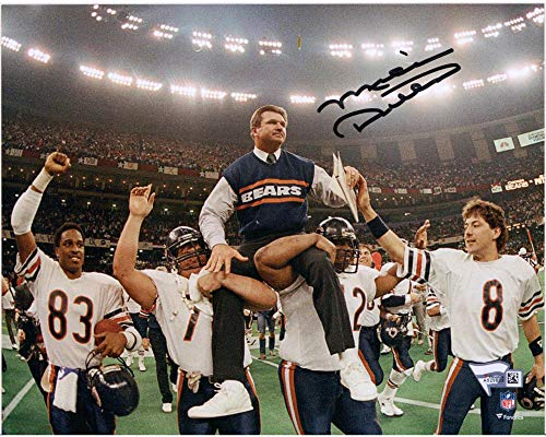 Mike Ditka Chicago Bears Autographed 8