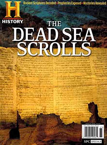History Channel Dead Sea Scrolls Magazine 2016 96 Pages