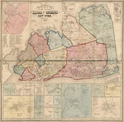 Amazon.com: 1859 Map Topographical map of the counties of ... on