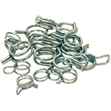 Outlaw Racing OR2089 15Pc Motorcycle ATV Fuel Line Hose Tube Spring Clips Clamp