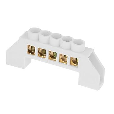 Fil de Distribution /électrique /à Conception de Pont /à 5 Trous connecteurs en Laiton de bornier 10pcs Bornier