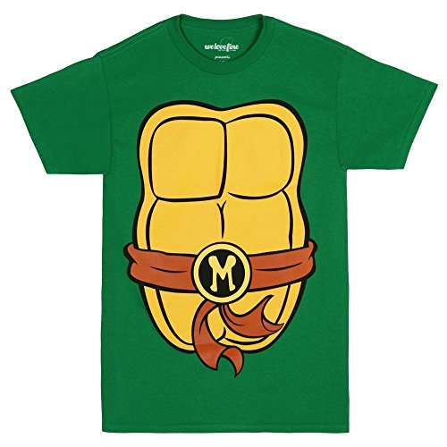 Men's Official Ninja Turtles Costume Shirt