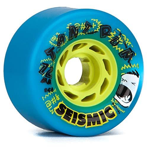 Seismic Longboard - Seismic Tantrum Longboard Wheels - 72mm 80a Blue