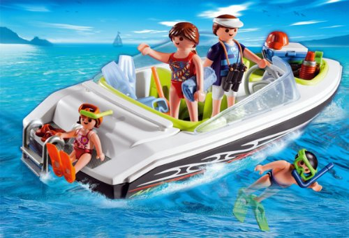 Playmobil 4862 Speed Boat