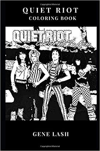 Quiet Riot Coloring Book: Legedary Kevin Dubrow and Heavy Metal ...