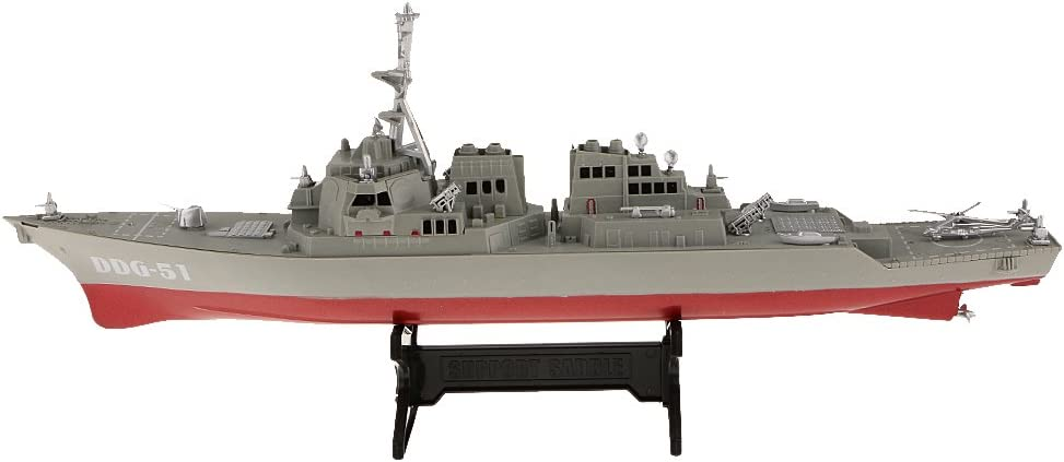 Escala 1/350 Juguetes Buques De Guerra Destructor De Plástico Modelo De Colección