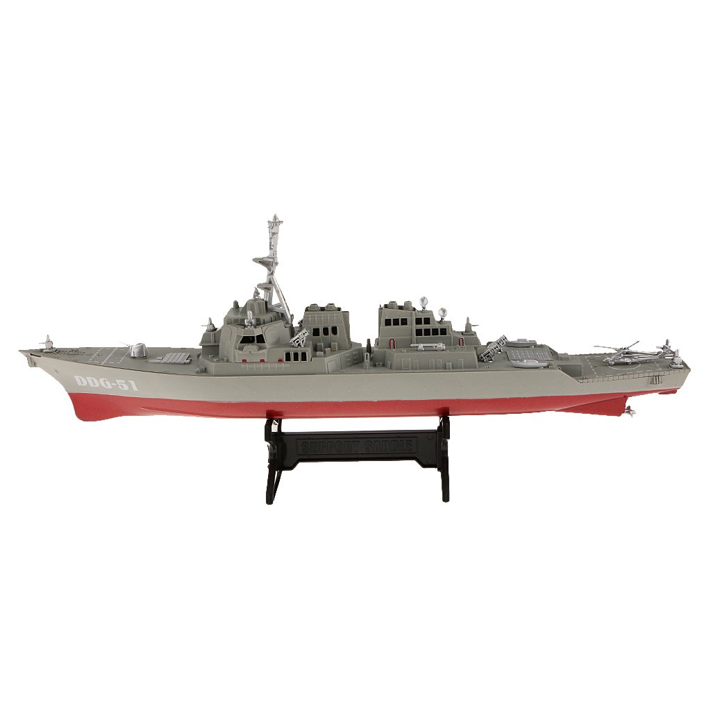 1/350 Scale Plastic Warships Model Toys Collectible