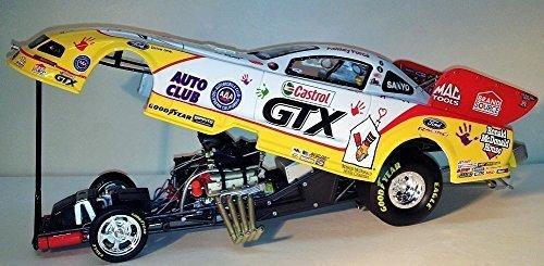 2009 Ashley Force Ronald McDonald House Castrol GTX NHRA Funny Car 1/24 diecast