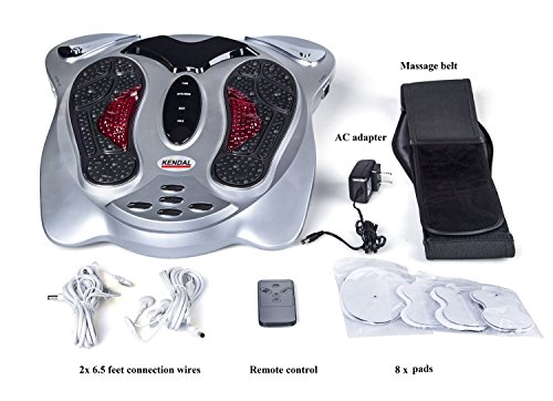 Physiotherapeutic Device with Foot Reflexology, Acupunctu...