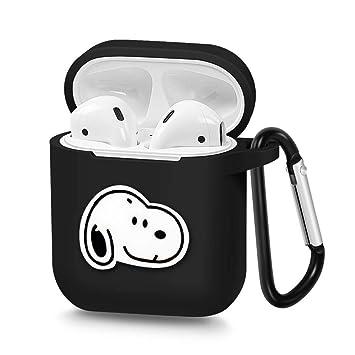 Amazon.com: Airpods Case, funda de carga portátil de ...