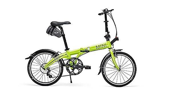 MINI Cooper Folding Bike Lime Color by MINI Cooper: Amazon.es: Deportes y aire libre