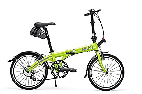 MINI Cooper Folding Bike Lime Color by MINI Cooper: Amazon ...