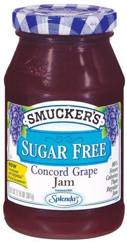 Smucker's Sugar Free Concord Grape Jam 12.75 by Smucker's ()