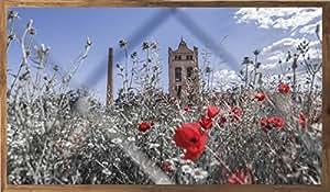 Nazari.Online Granada Landscapes Cuadro Sobre Lienzo I. Torre Alcoholera San Isidro (Sin Bastidor, 80x60 cm)