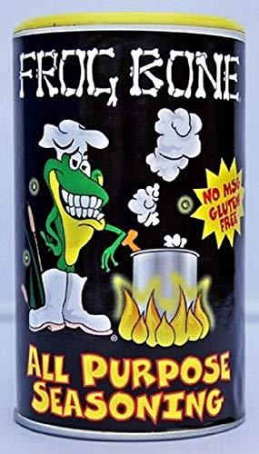 - Frog Bone All Purpose No MSG Cajun Creole Seasoning, 8 Ounce Shaker