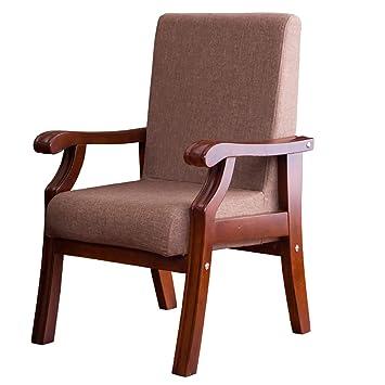 Dining Chair Chaise De Bureau Confortable à Quatre Pieds En Bois