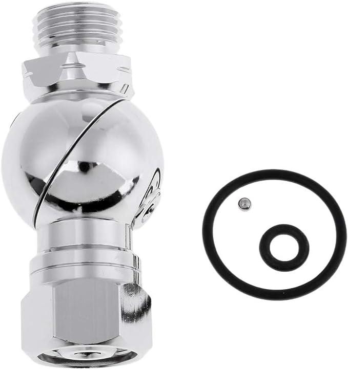 Sharplace 360 Degr/és Adaptateur R/égulateur de Deuxi/ème /Étage de Plong/ée sous-Marine