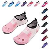 FANTINY Mutifunctional Barefoot Shoes Men Women and Kids Quick-Dry Water Shoes Lightweight Aqua Socks For Beach Pool Surf Yoga Exercise