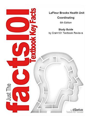 Download e-Study Guide for: LaFleur Brooks Health Unit Coordinating by Elaine A. Gillingham AAS  BA  CHUC, ISBN 9781416041726: Medicine, Healthcare Pdf